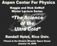 The Science of Ultra Cold
